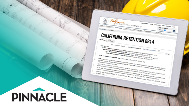 Protection from Subcontractor Withholding Retention with Pinnacle Surety